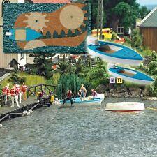 BUSCH HO 5480 lago con en movimiento Barco # NUEVO EN EMB. orig. #