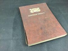 Lincoln Penny Cent 1909-1942  Dansco Folder Folder