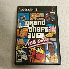 Grand Theft Auto Vice City Playstation 2 PS2 Video Game Complete CIB VERY GOOD