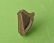 Vintage Harp pin Badge, Maybe Guinness. Ireland Drink Beer By Miller