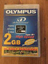 Olympus 2GB XD eXtrme Digital Picture M+ Memory Card for Olympus Fujifilm NEW