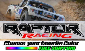 2X Ford Raptor Racing Sticker Decal Graphics Decals Custom Car SUV Pickup Ford