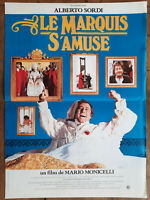Plakat Le Marquis S'Amuse Mario Monicelli Alberto Sordi 40x60cm