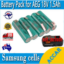 Battery Repacking Cell Pack For AEG L1815R L1820R  18V 1.5Ah Li-ion AU