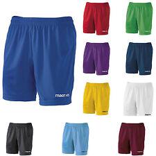 Calzoncini Corti Uomo Pantaloncini Da Calcio Calcetto Macron Mesa Shorts Bermuda
