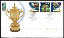 Australia 2003 Rugby World Cup FDC - Complete Set Of Three Stamps - Mint