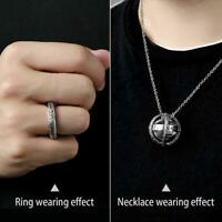 Astronomical Sphere Ball Ring Cosmic Finger Ring Couple Lover Jewelry Gifts