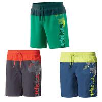 Adidas Fit Suite 3 Stripe Swimsuit Kids Sport Swimming Suit