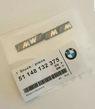4 BMW M Tec Badge Alloy Wheel stickers Sport 17 18 19