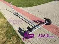FGP Universal Boat trailer Slipwagen up to 150 KG - 3,80 m Port trailer