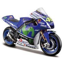 Motocicletas y quads de automodelismo y aeromodelismo color principal azul de escala 1:10