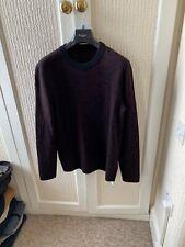 New Lanvin Grey Military Waffle Knit Wool Sweater RRP £830 BNWT