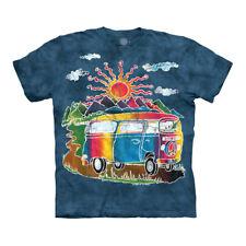 The Mountain Batik Tour Bus Adult Unisex T-Shirt