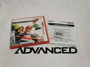 Mario Kart 7 (3DS) in Case with Manual | Authentic | VG Condition