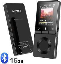 Agptek Metal Body Hifi Lossless Sound & Loundspeaker 1.8 Inch 16Gb Mp3 Player