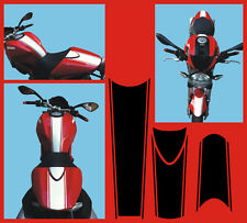 Ducati 696 perfili  striscie nere  adesivi/adhesives/stickers/decal