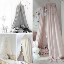 Kids Baby Bed Prince Canopy Bedcover Mosquito Net Curtain Bedding Dome Tent Home