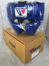 WINNING Boxing Head Gear FG-2900 Training Blue Large Size Made in Japan NEW
