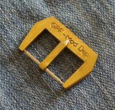 GPF-mod dep. cierro Buckle de Straps Monster 24mm puro de latón Brass