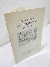 Adriano Boni,NEL TERRITORIO DI KLEE,1979[arte,Paul,Bauhaus