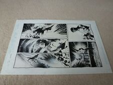 The Inhumans Issue 1 Page 8 - 1998 - RARE original comic art by Jae Lee