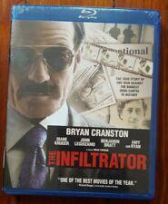 The Infiltrator (Blu-ray, 2015) Bryan Cranston, Diane Kruger, Amy Ryan NEW