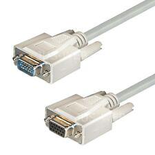 5m VGA Verlängerungskabel Monitor Verlängerung SUB-D Kabel Pc TV