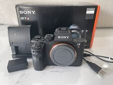 Sony Alpha a7R II 42.4MP Mirrorless Camera Body Only-Low Shutter Count: 189