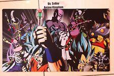 Custom Yugioh CARDFIGHT MTG Playmat DBZ Dragon Ball Super Goku Universe 6 #640
