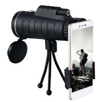 High Power 40X60 HD Monocular Tripod Telescope Shimmer lll Night Vision Hiking