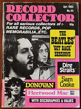 Record Collector Magazine Issue 44 Aug 1983 – Beatles, Fleetwood Mac, Donovan