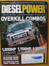 Diesel Power Magazine July 2012- Overkill Combos,1,800HP Cummins,1,700HP Duramax