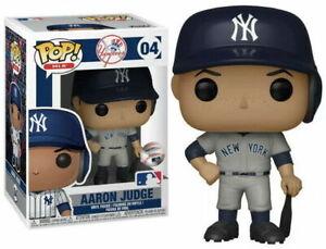 "Funko Pop! MLB ""AARON JUDGE"" #04 GREY New York Yankees Baseball Vinyl Figure NIB"