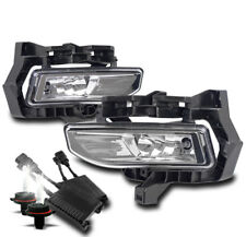 CHROME BUMPER DRIVING FOG LIGHT W/50W 6000K HID+HARNESS FOR 2017-2018 VERSA NOTE