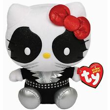 Ty Beanie Babies 42061 Hello Kitty Kiss Banda de Rock Hombre Gato