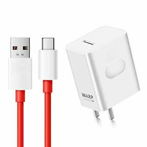 WNIEYO Warp Charger, OnePlus 7T 7 Pro Charger [5V 6A] + Fast Charging Cable for