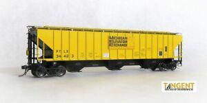 Tangent MICHIGAN ELEVATOR PS-2 4750 Cov. Hopper Car (assorted numbers) NIB RTR