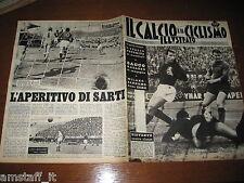 IL CALCIO E CICLISMO ILLUSTRATO 1963/11=TRAPATTONI=MILAN=FIORENTINA=SARTI=