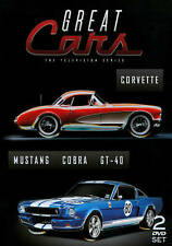 Great Cars The Television Series  Corvette/Mustang Cobra GT-40, 2 DVD SET 2013