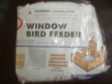 HOME DEPOT KIDS WORKSHOP WINDOW BIRD FEEDER KIT LOWES BUILD & GROW WOOD PROJECT