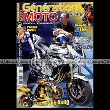 GENERATION MOTO N°55 SUZUKI SV 1000 BENELLI 1130 TNT TRIUMPH 955 SPEED TRIPLE