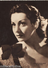 #CINEMA ATTRICI: VIVIANE ROMANCE- Studio Dax- ediz. Rizzoli 1941
