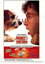 Honey I Shrunk the Kids-Rick Moranis-Disney Movie Club Advertising Postcard