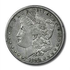 USA Morgan Silver Dollar $1 1892 CC Choice XF Carson City