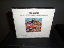 RADIOHEAD HAIL TO THE THIEF 2 CD 1 DVD  advance COLLECTORS EDITION
