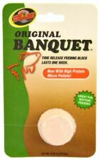 LM Zoo Med Original Banquet Fish Feeding Block Regular - .45 oz (1 Pack)