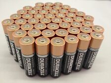 50 AA Duracell Batteries Packed From New Factory Direct Cases Every Month