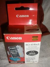 Genuine Canon BCI-10 ( 0956A003) 2 Ink Cartridges, Black