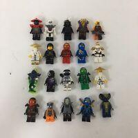 Lego Ninjago Minifigure Lot X20 Kai Cole Jay Zane Lloyd Wu Snakes Garmaddon + #2