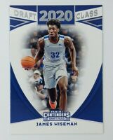 2020-21 Panini Contenders Draft Picks Class 20 James Wiseman Rookie RC #3